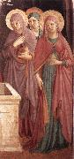 Women at the Tomb (detail) sdg GOZZOLI, Benozzo